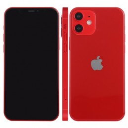 Black Screen Dummy Phone Fake Display Model for iPhone 12 mini red