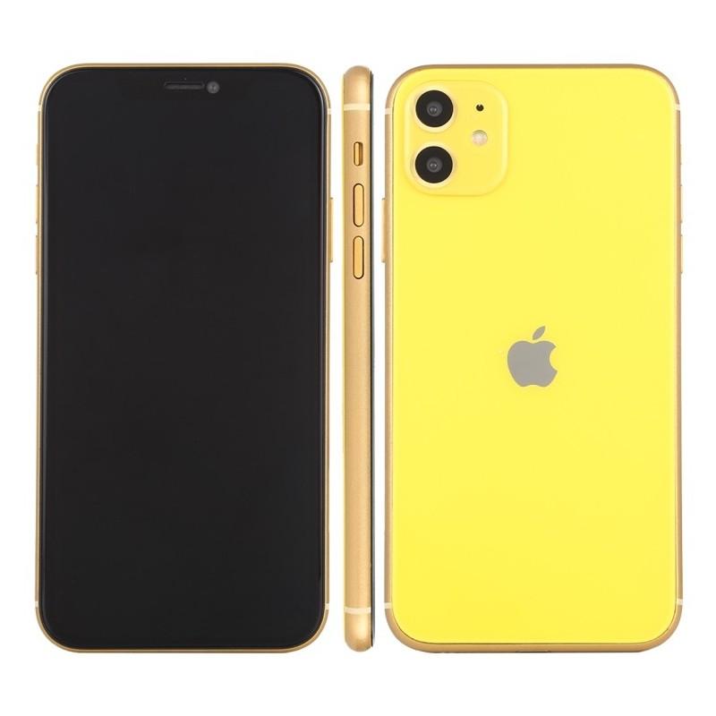 Maqueta con pantalla negra para iPhone 11