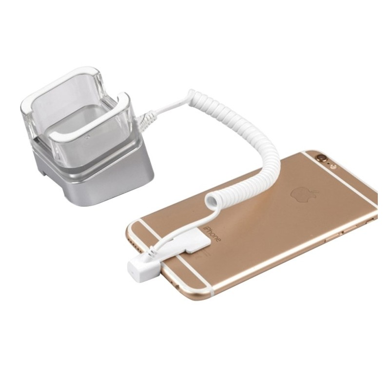 Anti-Theft Display for iPhone with RJ11 Cable 8 Pins Retractable