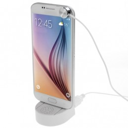 Soporte Expositor con Alarma Antirrobo para Smartphones