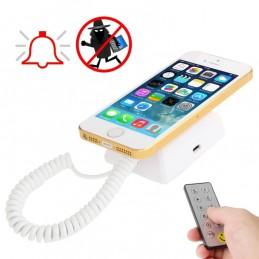 Soporte Expositor con Alarma Universal para Móviles