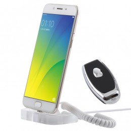Anti-Theft Display Stand for Smartphones with Alarm and Remote Control