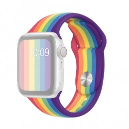 Rainbow Strap for Apple Watch 5 and 4 40mm / 3, 2, 1 38mm