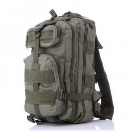 Mochila Militar de Nylon para Montañismo Capacidad 20-35L