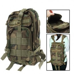 Waterproof Oxford Nylon Military Backpack with Adjustable Strap